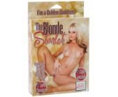 Nafukovací panna Blondýnka Starlet