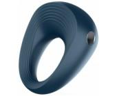 Modrý vibrační erekční kroužek na penis Vibro-Ring 2