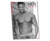 Nástěnný kalendář na rok 2020 Sexy muži