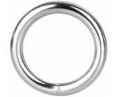 Kovový erekční kroužek Silver Ring