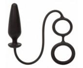 Anální kolík s kroužky na varlata a penis Dr. Joel
