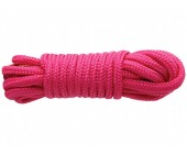 Růžové lano na bondage SINFUL 7,6 m