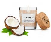 Afrodiziakální masážní svíčka MAGNETIFICO coconut