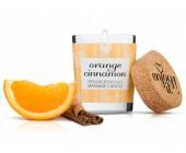 Afrodiziakální masážní svíčka MAGNETIFICO orange and cinnamon