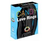 Kroužky na penis z bonbónů Candy Love Rings 3 ks