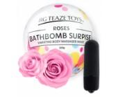 Bomba do koupele s vibrační patronou Surprise s vůní růže