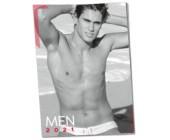 Nástěnný kalendář sexy mužů MEN 2021