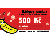 Dárkový poukaz v hodnotě 500 Kč