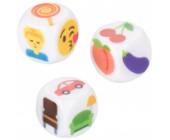 Erotické hrací kostky Emojigasm 3 ks