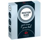 Kondomy MISTER SIZE 60 mm 3 ks
