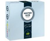 Kondomy MISTER SIZE 49 mm 36 ks