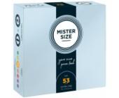 Kondomy MISTER SIZE 53 mm 36 ks