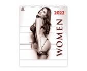 Nástěnný erotický kalendář WOMEN 2022 exklusivní edice