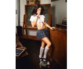 Erotický kostým sexy školačka