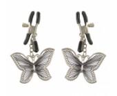 Svorky na bradavky ve tvaru motýlků