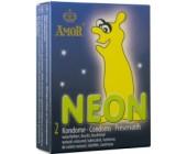 Kondomy Neon Amor 2ks svítící