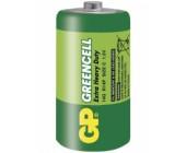 Baterie monočlánek C Green Power ZnCl