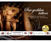 Sex Goddes Inspirativní erotická tetování černo rudo zelená