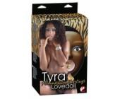 Čokoládová Tyra nafukovací kráska