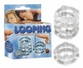 Erekční kroužky Looping prodlužující erekci
