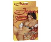 Nafukovací panna Johanka exotická kráska