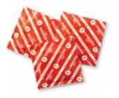 Kondom London s jahodovou vůní jahodově červený