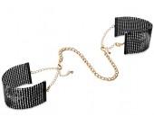 Luxusní černá pouta/náramky Désir Métallique Black černá