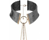 Černý náhrdelník/obojek Désir Métallique Black černá