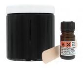 Náhradní silikon pro odlitek penisu černý