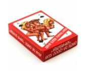 Erotické hrací karty Kama Sutra (54 karet) různé sexuální polohy