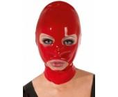 Latexová červená maska elastická