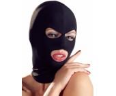 Černá maska s otvory univerzální