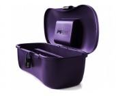 Hygienický kufřík Joyboxx na erotické pomůcky fialový