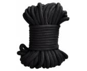 Černé bondage lano 20 m