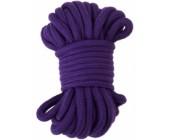 Fialové bondage lano 20 m