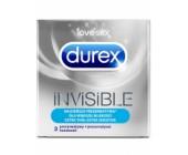 Kondomy Durex Invisible Extra Thin Extra Sensitive pro maximální citlivot (3 ks)