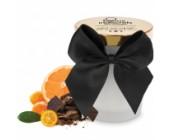 Masážní svíčka Melt My Heart vůně hořké čokolády a citrusů