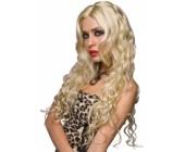 Dlouhá vlnitá blond paruka Jennifer