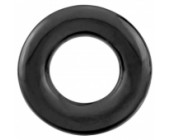 Černý erekční kroužek The RingO pro ddálení ejakulace a zlepšení erekce