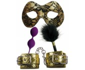 BDSM sada erotických pomůcek Masquerade Party