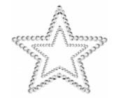 Samolepící ozdoby na prsa ve tvaru hvězd