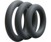 3 erekční kroužky různých průměrů OptiMALE Thick