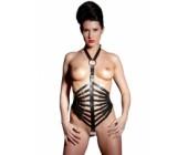 Erotický kožený postroj pro ženy ZADO