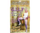 Nafukovací panna GILF granny
