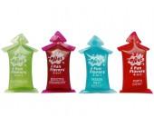 Ovocné lubrikační gely 4v1 Wet Fun Flavors 4 ks