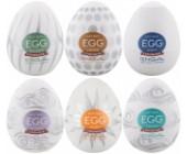 Výhodné balení masturbátorů pro muže TENGA Egg Stronger 6 ks