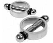 Kovové magnetické svorky na bradavky 2 ks