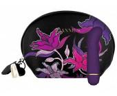 Minivibrátor na bod G Floral Deep Purple