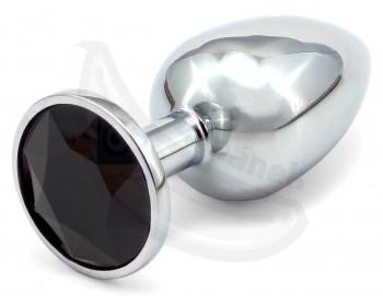 Fotka 1 - Malý anální kolík s černým krystalem