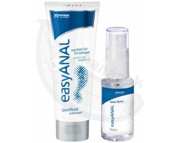 Fotka 1 - Anální lubrikační gel + relaxační sprej easyANAL